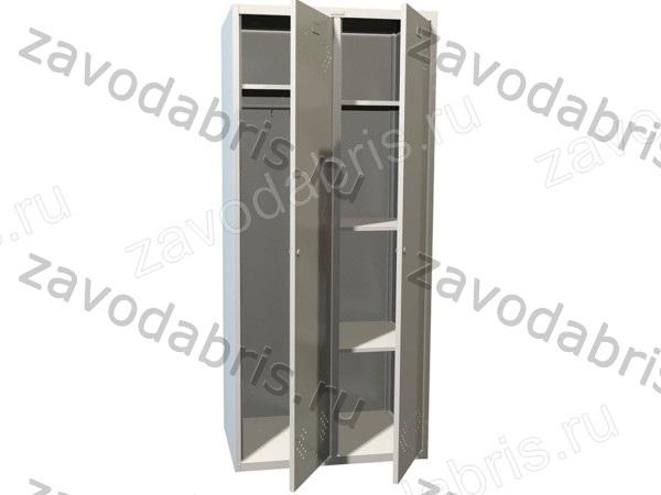 Фото 1 - Гардеробные металлические шкафы.