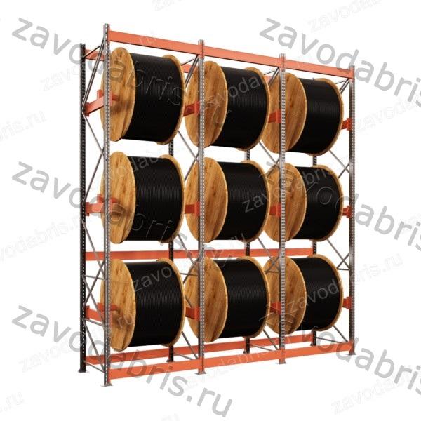 Фото 1 - Стеллажи для хранения кабеля.