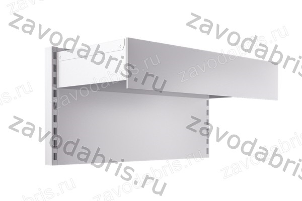 Фото 3 - Металлические пристенные стеллажи.