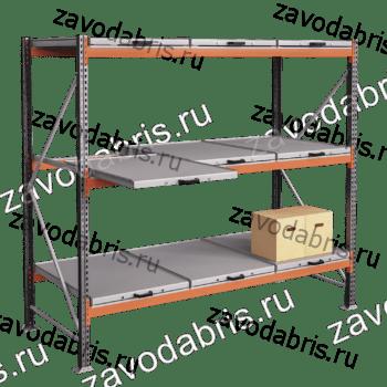 Фото 1 - Стеллажи с выкатными платформами в Екатеринбурге.