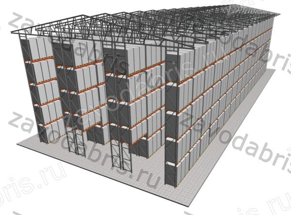 Фото 3 - Самонесущие склады в Екатеринбурге.