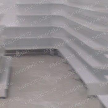 Фото 28 - Металлические пристенные стеллажи.