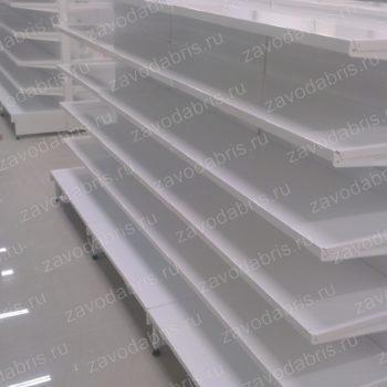Фото 31 - Металлические пристенные стеллажи.