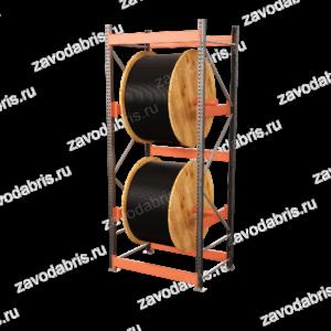 Фото 6 - Стеллаж для кабельных барабанов<br>высота 2400м на 2 барабана.