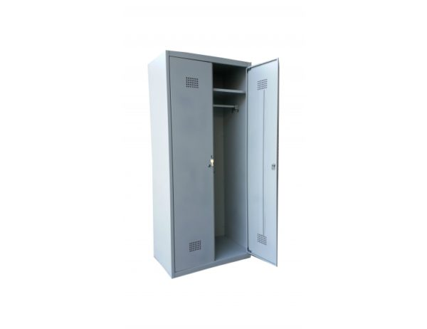 Фото 4 - Гардеробные металлические шкафы.