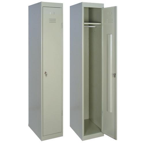 Фото 3 - Гардеробные металлические шкафы.