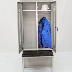 Фото 17 - Шкаф гардеробный<br>с выдвижной скамьёй<br>1850*600*500<br>.