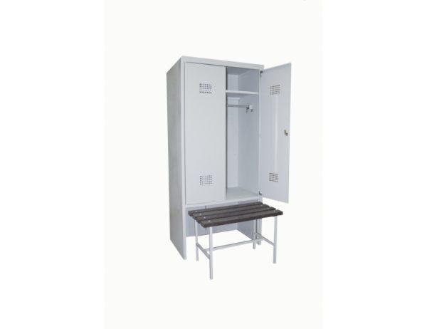 Фото 6 - Гардеробные металлические шкафы.